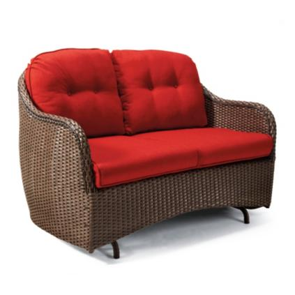 glider king aluminum cast patio seating club chair outdoor loveseat madrid wcushions cushions clublsglider furniture web