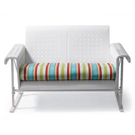 Retro Loveseat Cushion