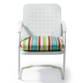 Retro Spring Chair Cushion
