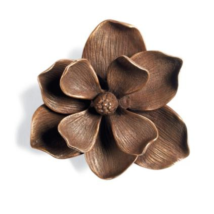 Magnolia Flower Door Knocker