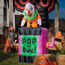 Pop Goes the Evil Inflatable