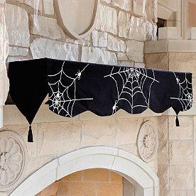 Gothic Glam Mantel Scarf