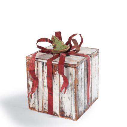 Artisan gift packages grandin road artisan small package with bow negle Choice Image