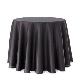 Faux Dupioni Tablecloth and Westfield Plaid Table Topper