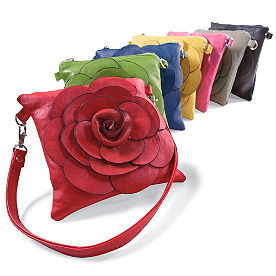 Square Flower Demi Bag