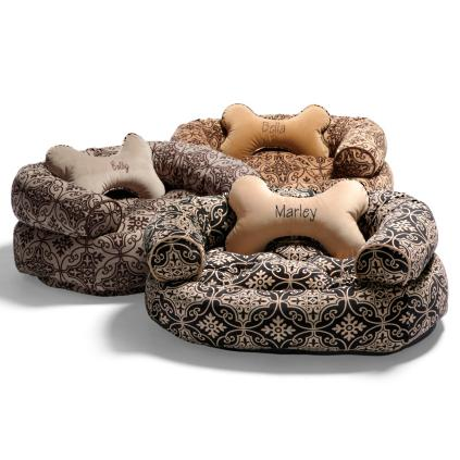 Valencia Dog Bed With Free Bone Pillow Grandin Road