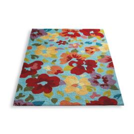 Flower Garden Outdoor Rug