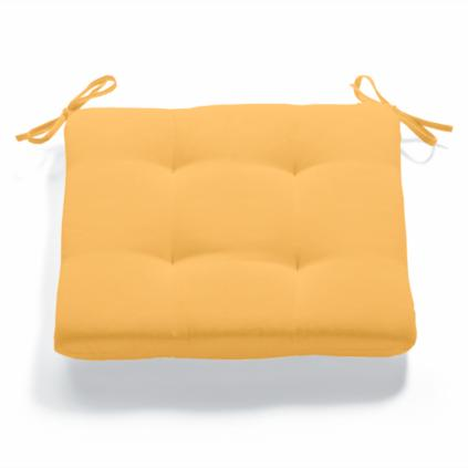 Solid Tufted Chair Cushion