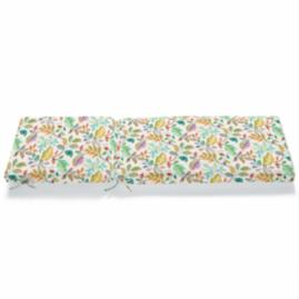 Knife Edge Patterned Chaise Cushion