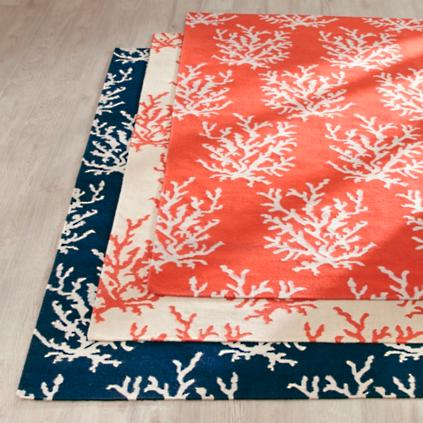 Coral Reef Area Rug