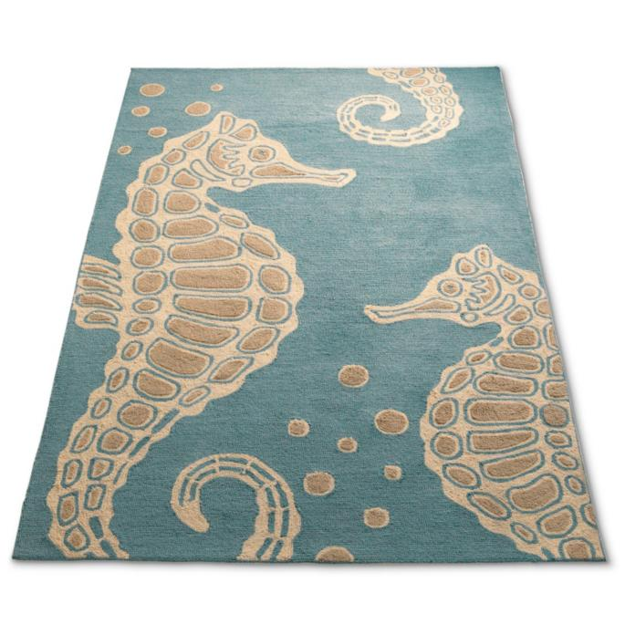 Sea Horse Outdoor Rug