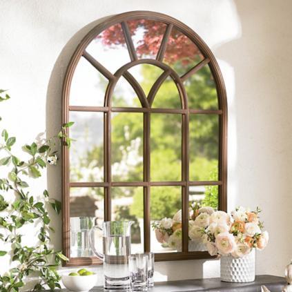 Superb Window Garden Mirror