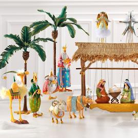 20-Piece Nativity Scene