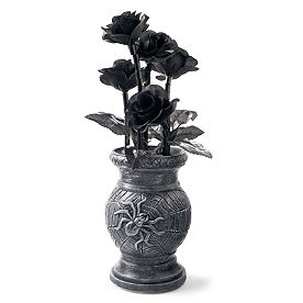 Wilting Black Roses