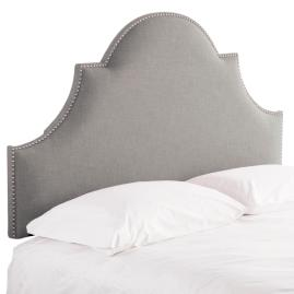 Arched Nailhead Headboard