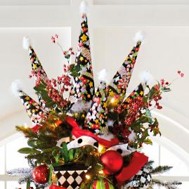 Mary Engelbreit Candy Cane Cone Tree
