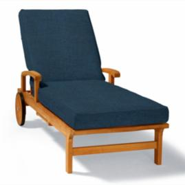Double-piped Chaise Cushion
