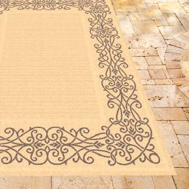 Ironwork Outdoor Rug
