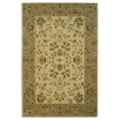 Bergama Area Rug In Ivory Amp Light Gray Grandin Road