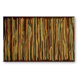Gallia Stripes Driftwood Area Rug