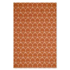 Estrellas Red Orange Indoor Area Rug
