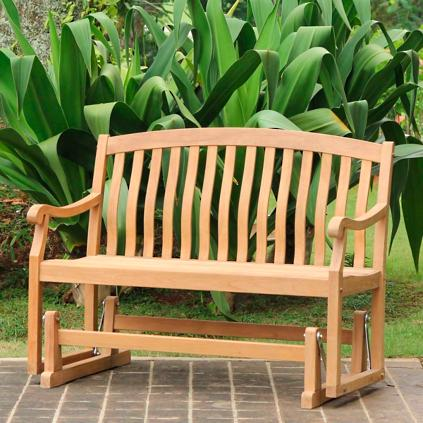 warehouse bench for angle seater seat outdoor two furniture teak benches garden