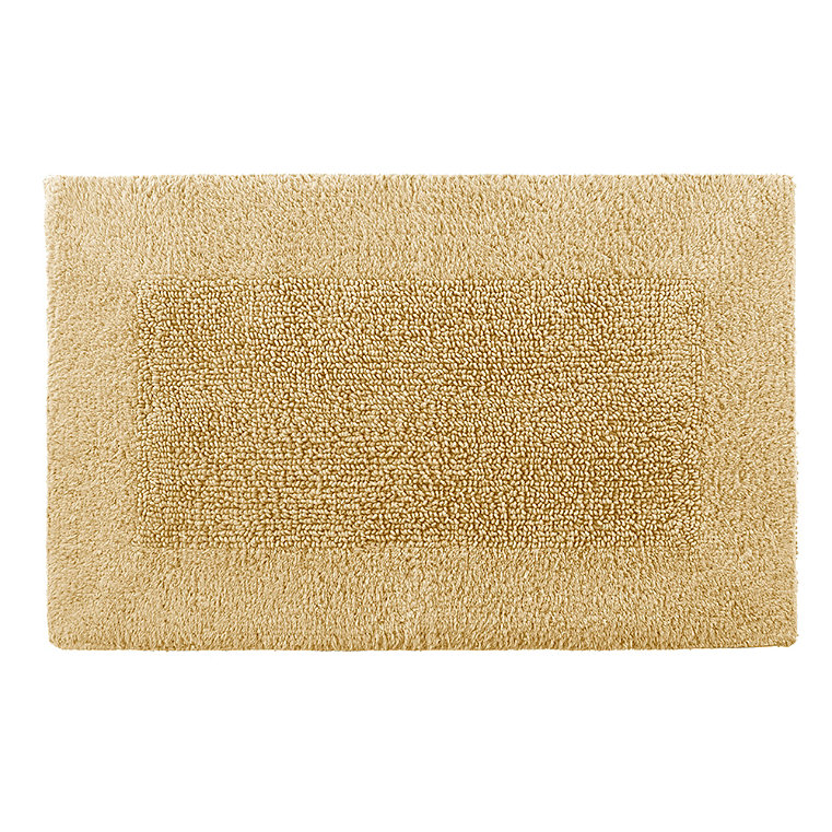 Reversible Egyptian Cotton And Bamboo Bath Rugs Grandin Road