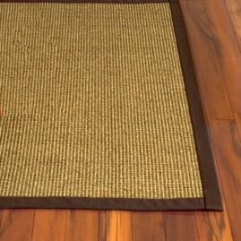 Bordered Jumbo Boucle Sisal Area Rug