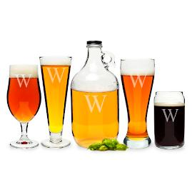 Personalized 5-pc. Party Glassware Set