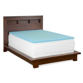 Gel Memory Foam Combo Mattress Topper