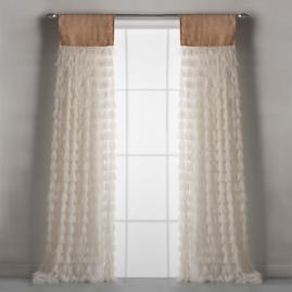 Chichi Petal Curtain with Jute Header