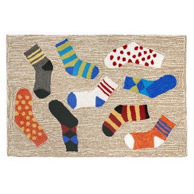 Lost Socks Door Mat Grandin Road
