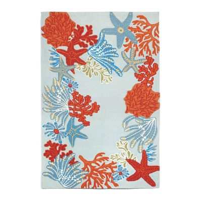 Under the Sea Outdoor Rug Grandin Road