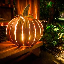 Short Pumpkin Luminary