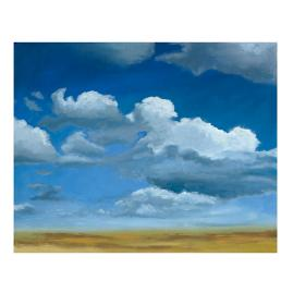 Big Sky Wall Art I