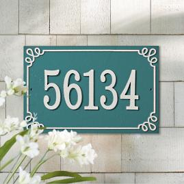 Pemberley Address Plaques