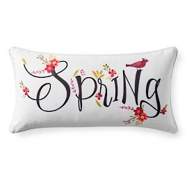Spring Lumbar Pillow