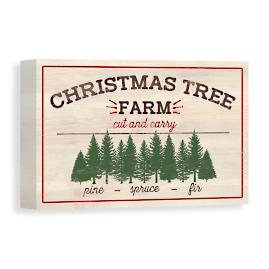Christmas Tree Farm Canvas