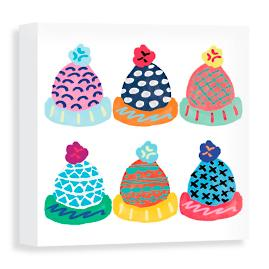 Cozy Hats Canvas