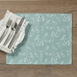 Bunny Pattern Placemat