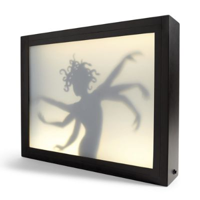 Halloween Six Arm Lady Shadow Box