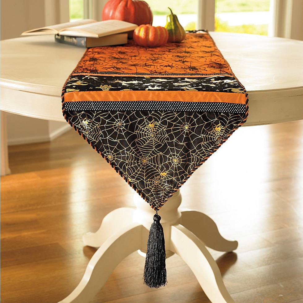 bewitching table runner grandin road