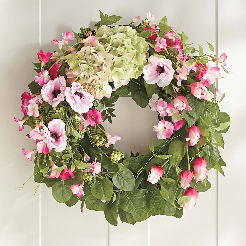 Blooming Blossom Wreath