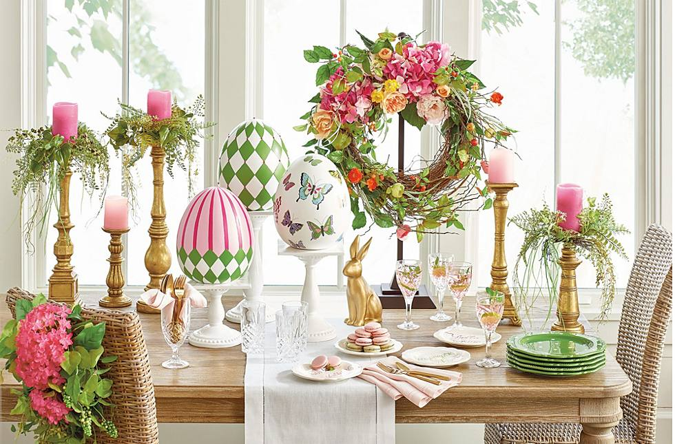 11 Easter & Spring Decorating Ideas - Grandin Road Blog on halloween for bedrooms, window treatments for bedrooms, decorative lights for bedrooms, small spaces for bedrooms, christmas for bedrooms, printables for bedrooms, storage for bedrooms, design for bedrooms, diy for bedrooms, silk flowers for bedrooms, decorative pillows for bedrooms, furniture for bedrooms, home decor for bedrooms, art for bedrooms, color for bedrooms, organization for bedrooms, window seats for bedrooms,
