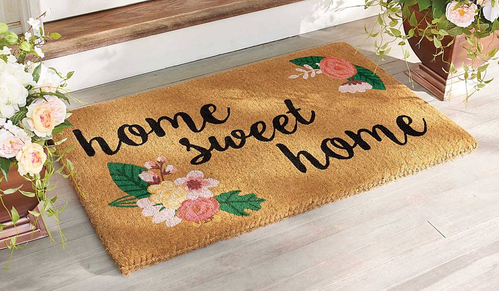 """Home Sweet Home"" Outdoor Coco Mat"