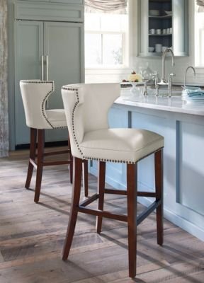 Trend Treasure: Pale Gray And Ivory Seating Looks Striking In Updated  Entertaining Spaces