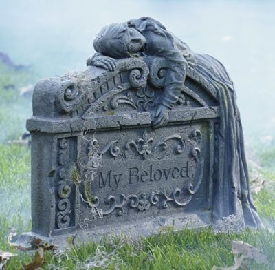My Beloved Halloween Tombstone