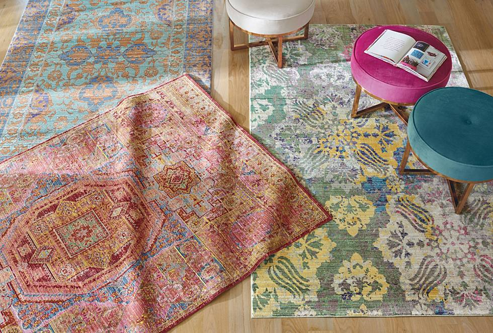 The Right Rug, The Right Size: 3 Tips - Grandin Road Blog