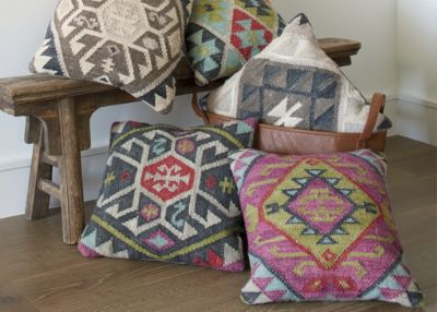 colorful kilim pillows