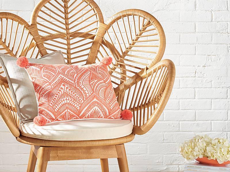 indoor rattan furniture trends Archives - Grandin Road Blog
